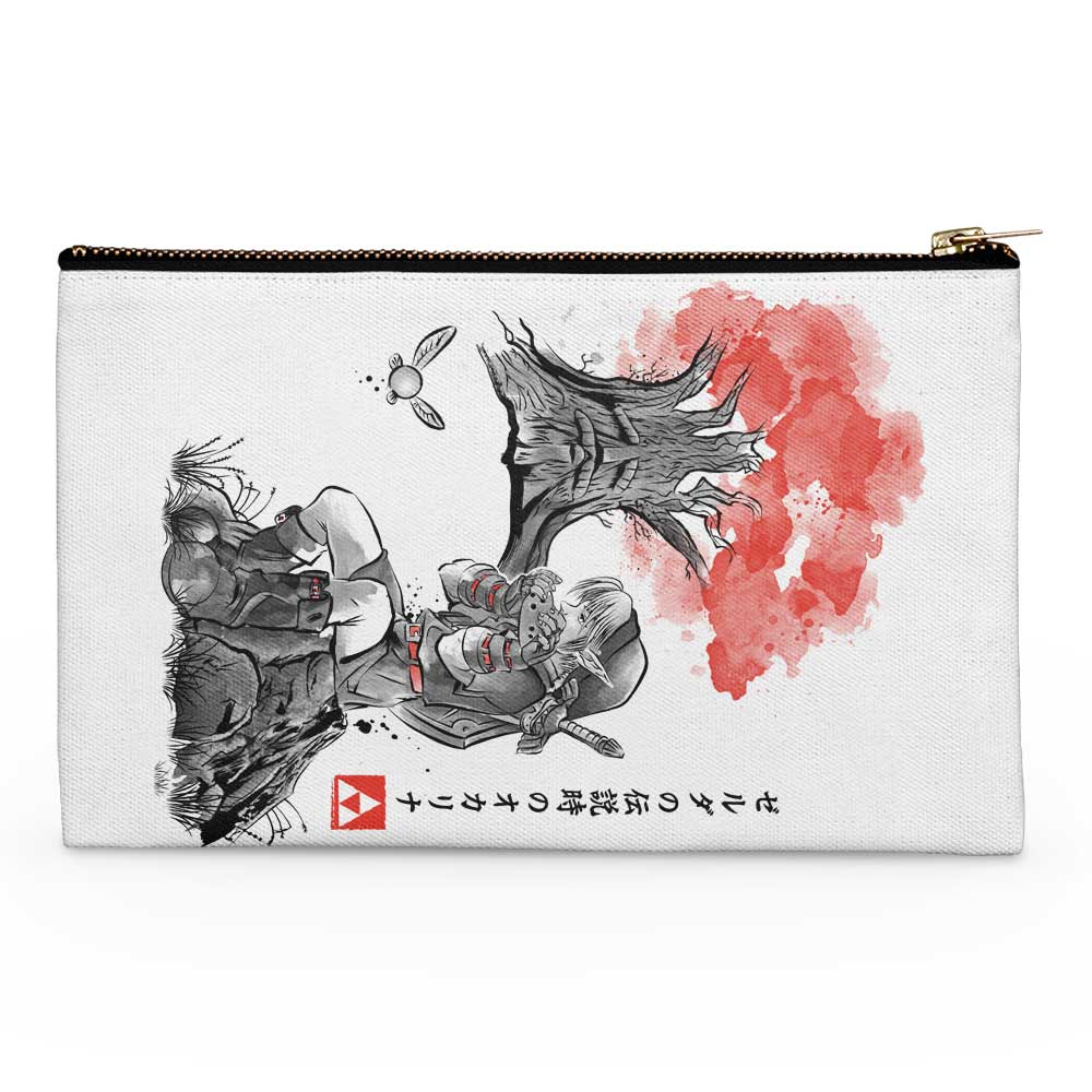 The Great Deku Sumi-e - Accessory Pouch