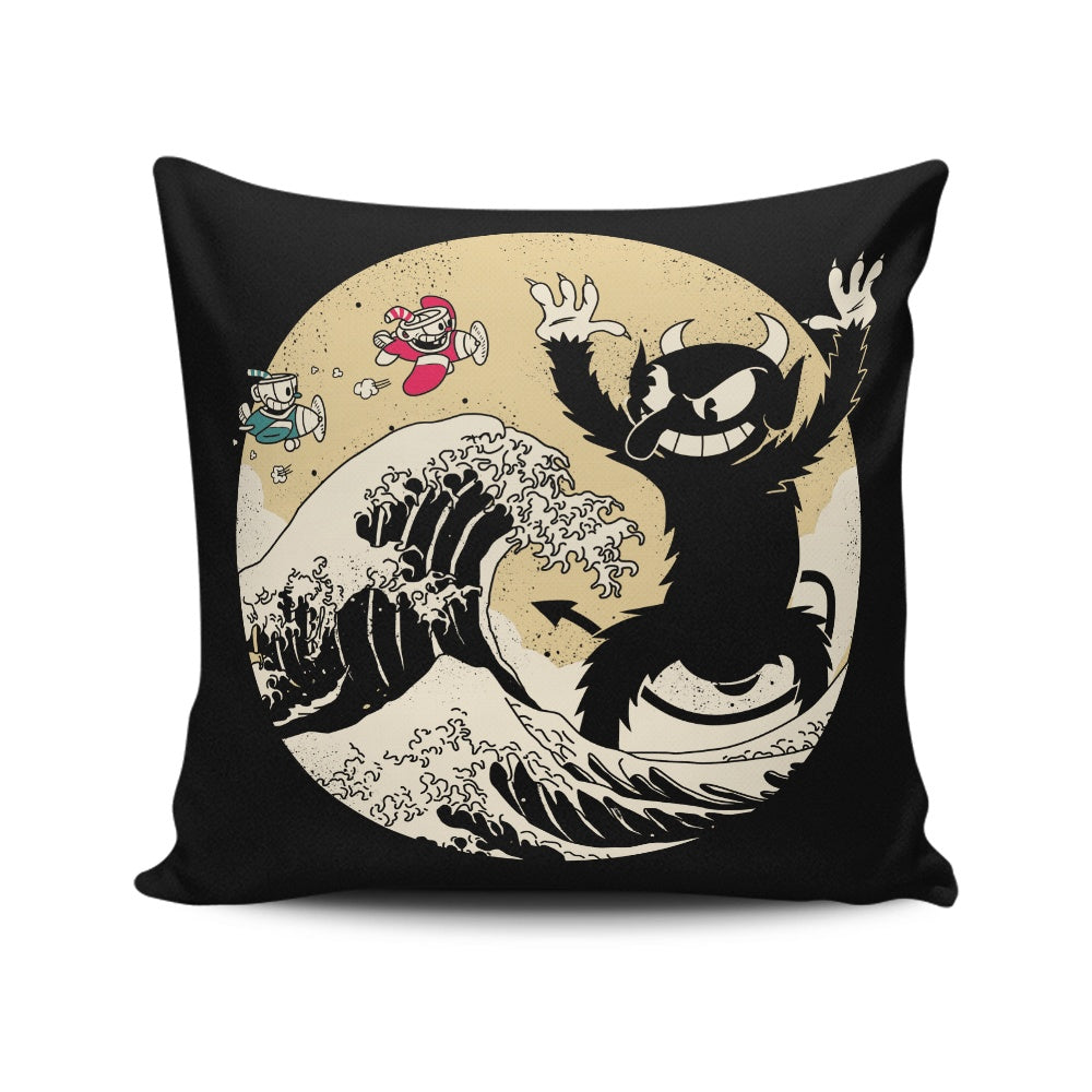 The Great Retro Battle - Throw Pillow