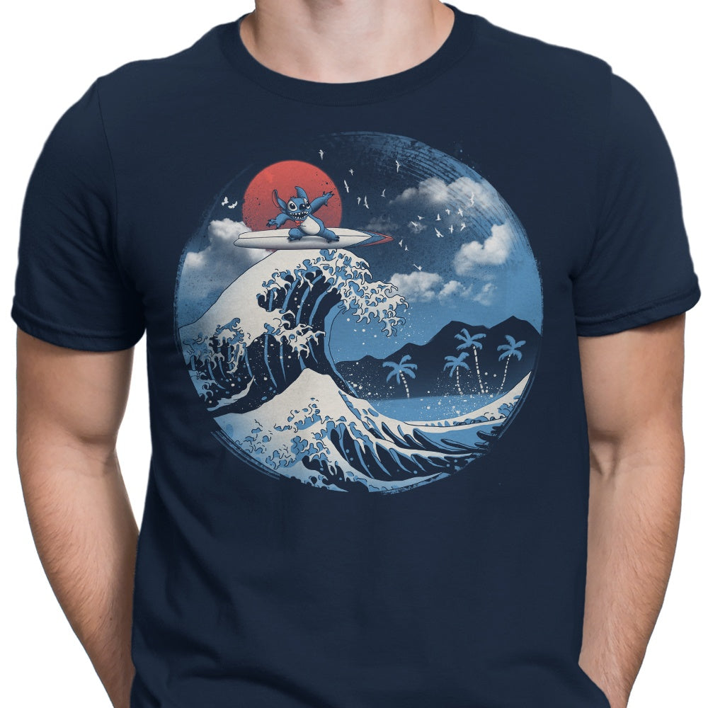 The Great Wave of Kaua'i - Men's Apparel