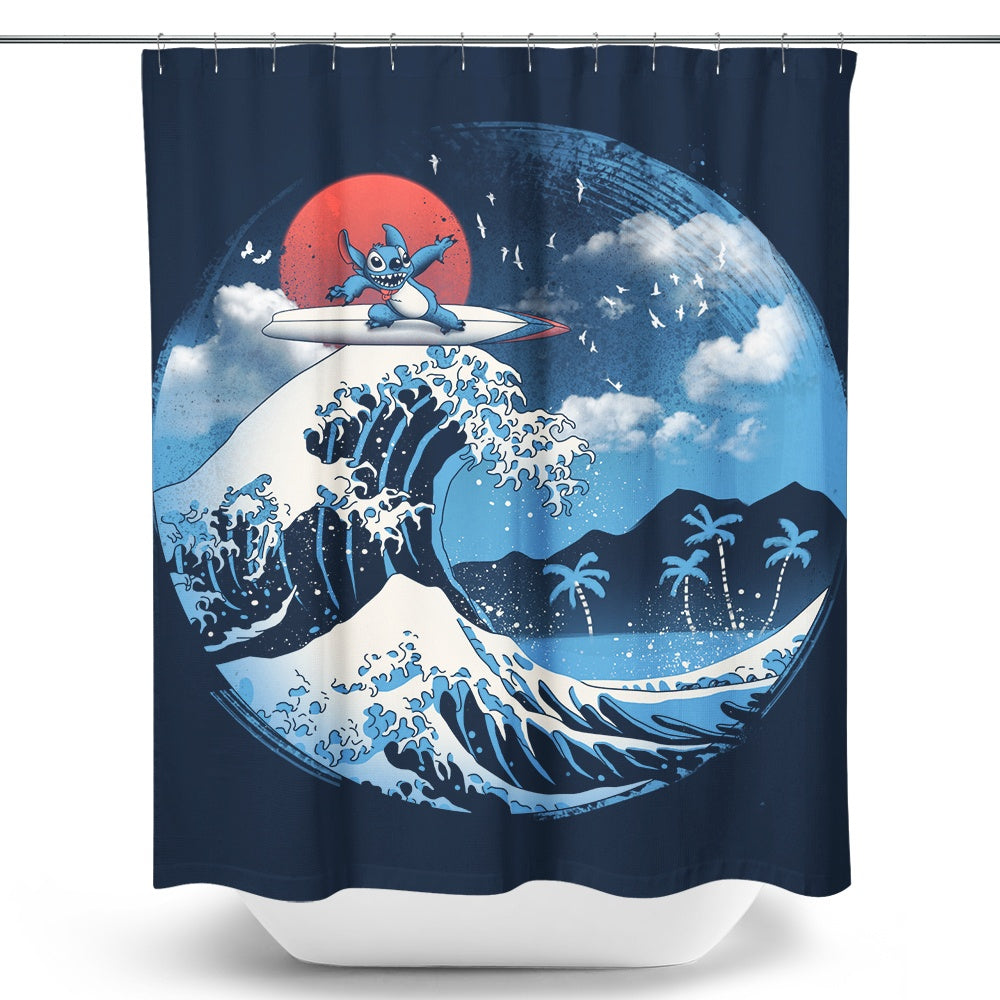 The Great Wave of Kaua'i - Shower Curtain