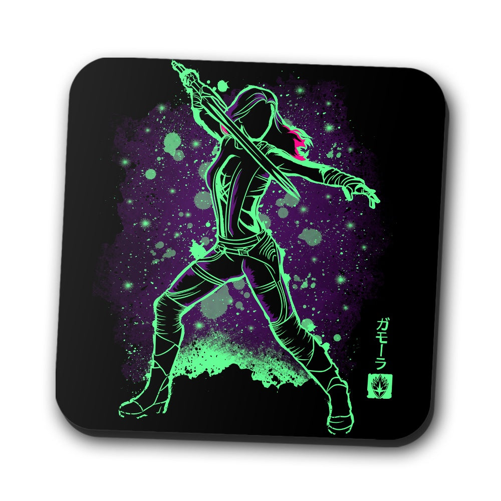 The Green Assassin - Coasters