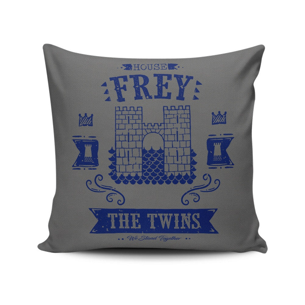The Grey Towers - Throw Pillow