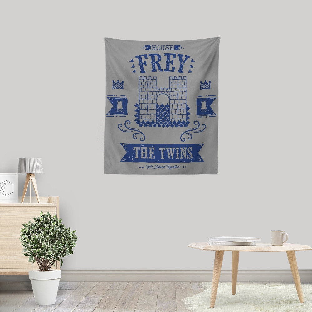 The Grey Towers - Wall Tapestry