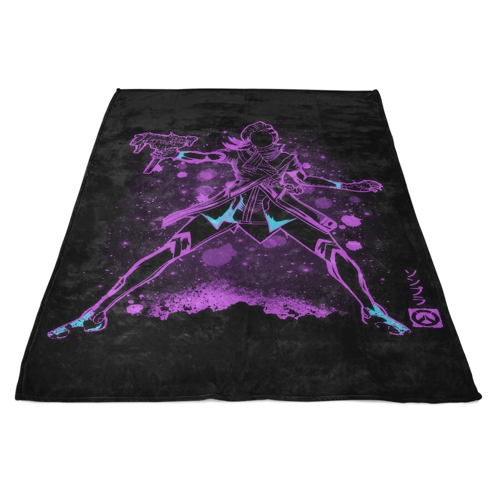 The Hacker - Fleece Blanket
