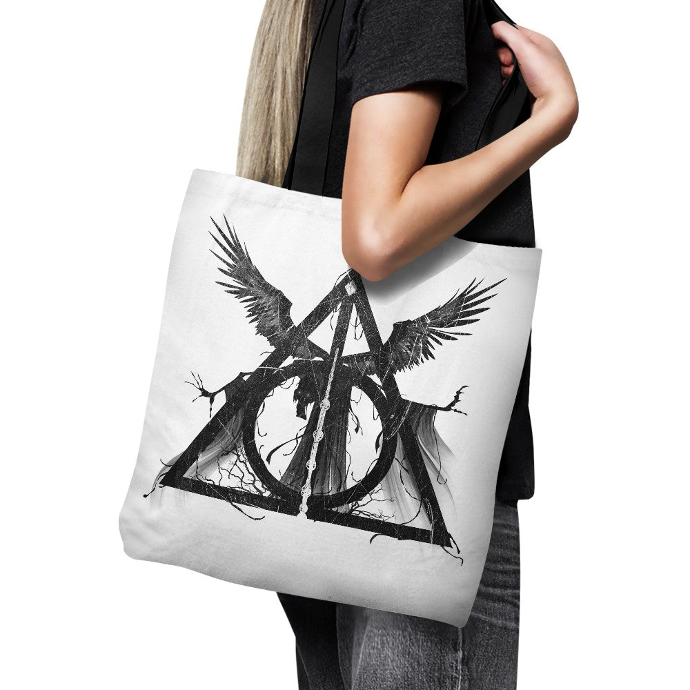 The Hallows Tale (Alt) - Tote Bag
