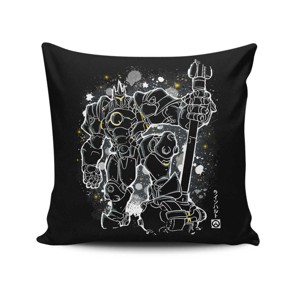 The Hammer (Alt) - Throw Pillow