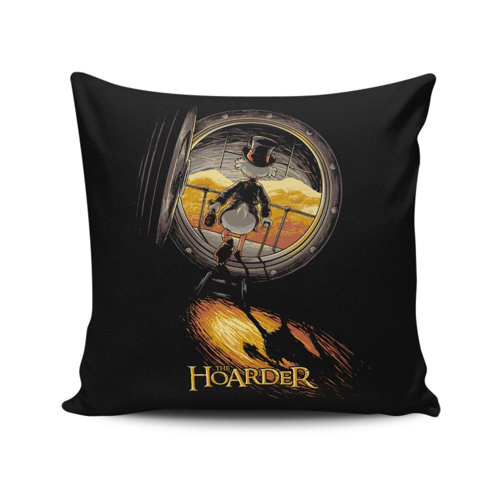 The Hoarder (Alt) - Throw Pillow