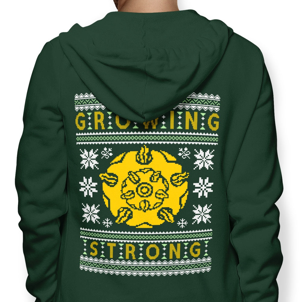 The Holidays are Growing Strong - Hoodie