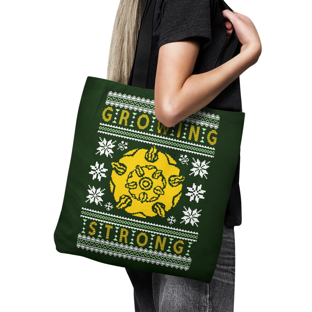 The Holidays are Growing Strong - Tote Bag
