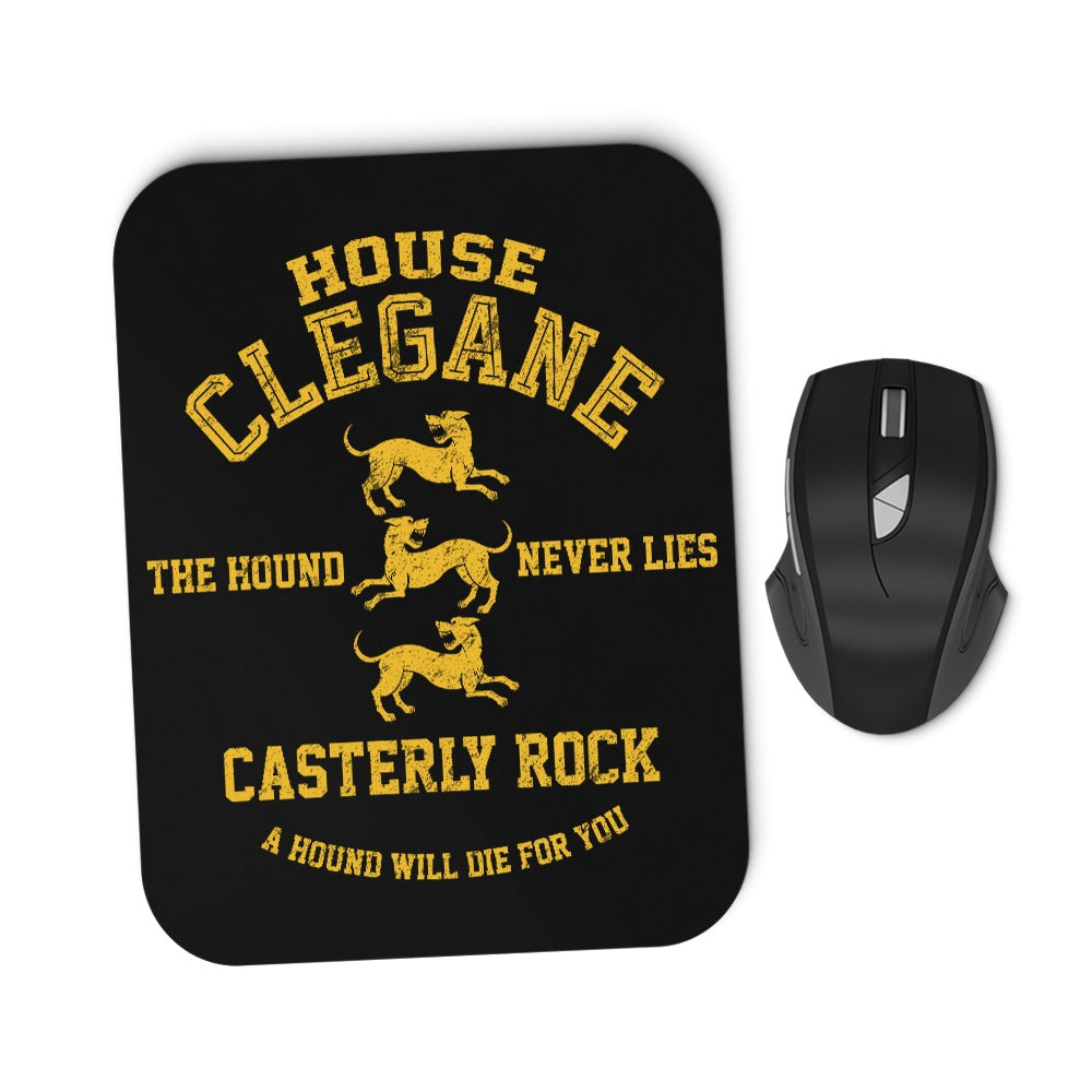 The Hound Never Lies - Mousepad