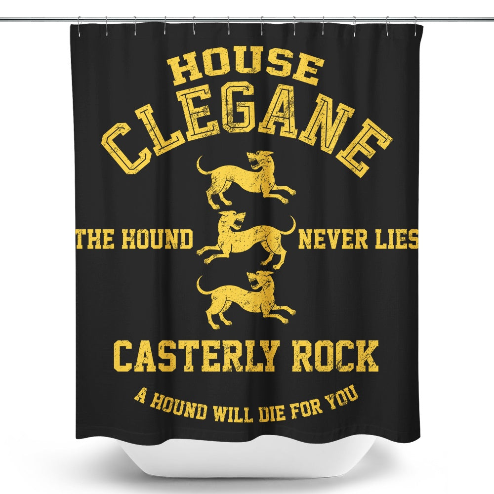 The Hound Never Lies - Shower Curtain
