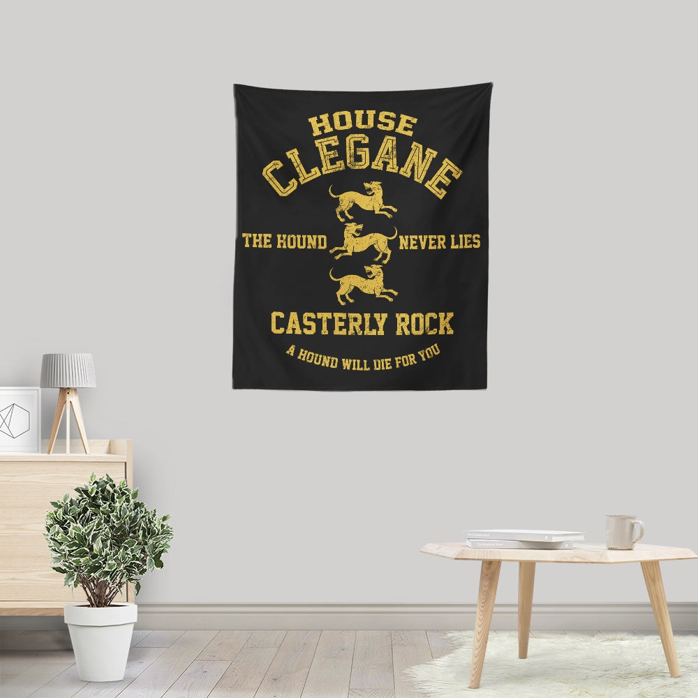 The Hound Never Lies - Wall Tapestry
