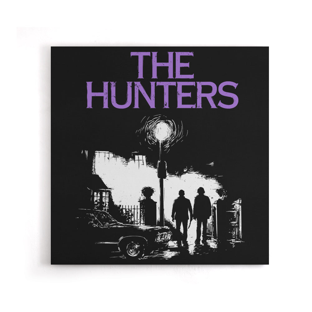 The Hunters - Canvas Print