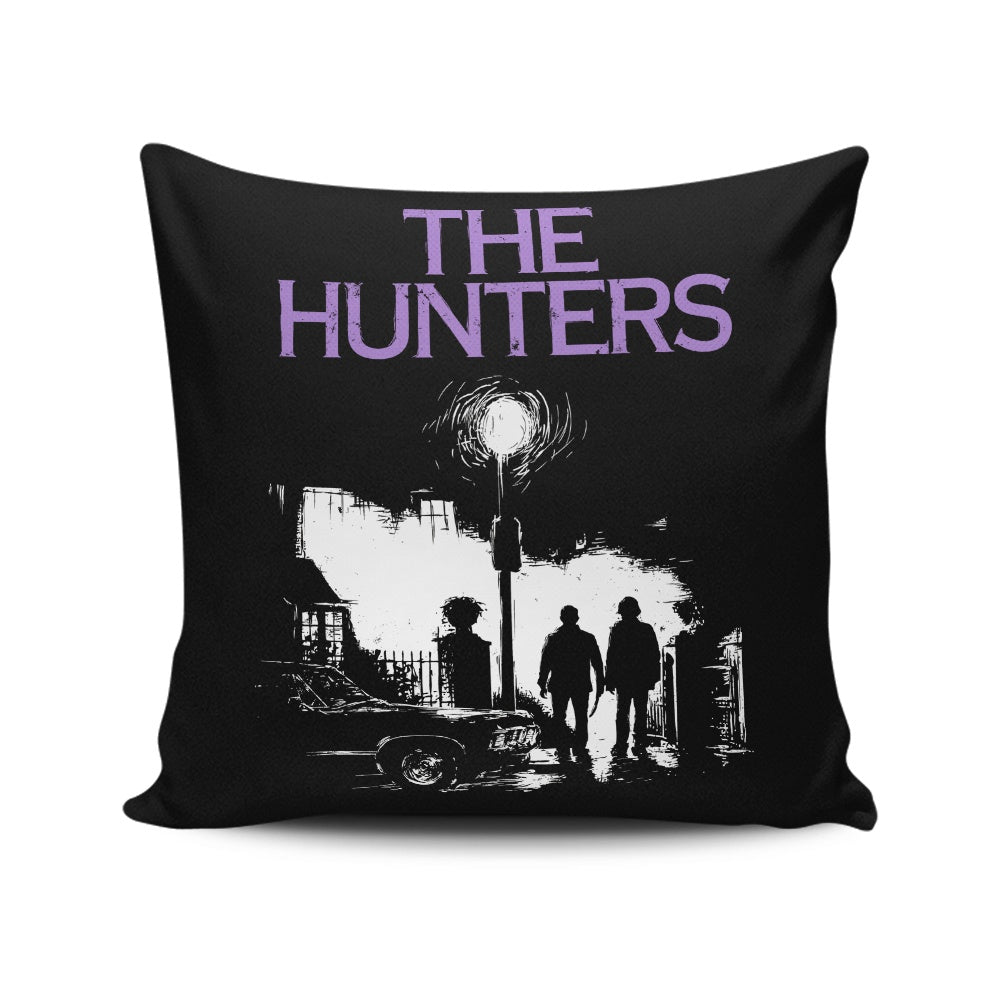 The Hunters - Throw Pillow