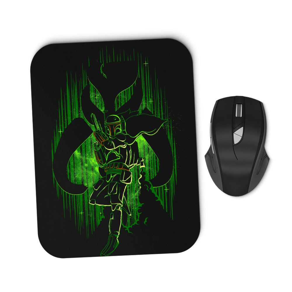 The Hunter's Shadow - Mousepad