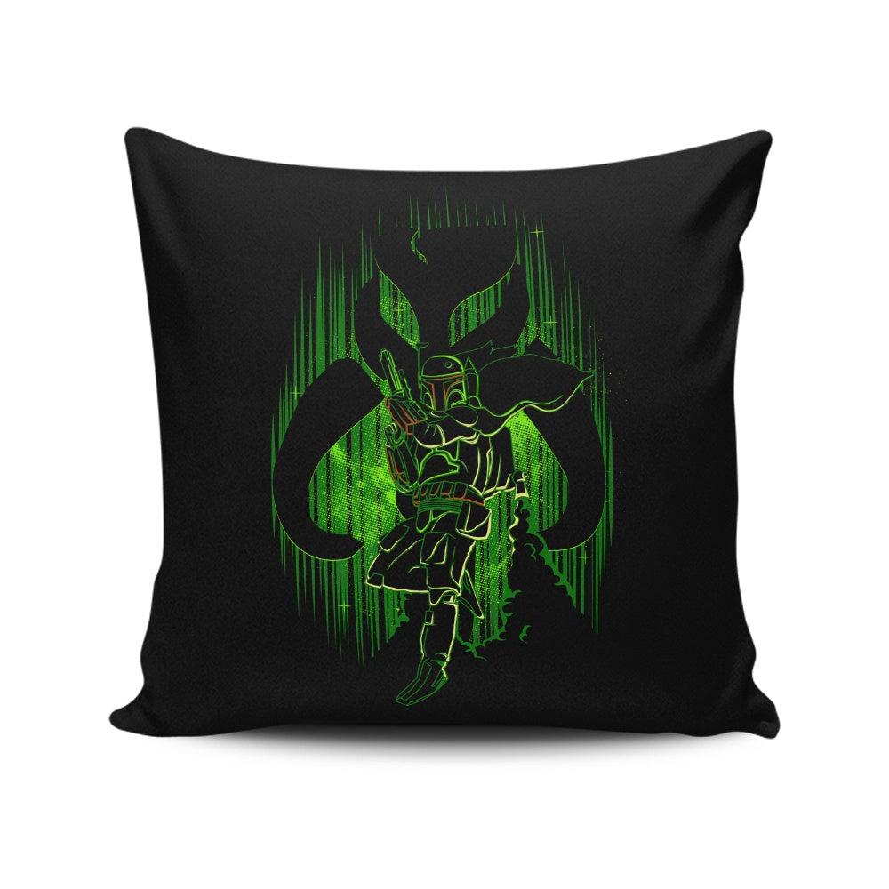 The Hunter's Shadow - Throw Pillow