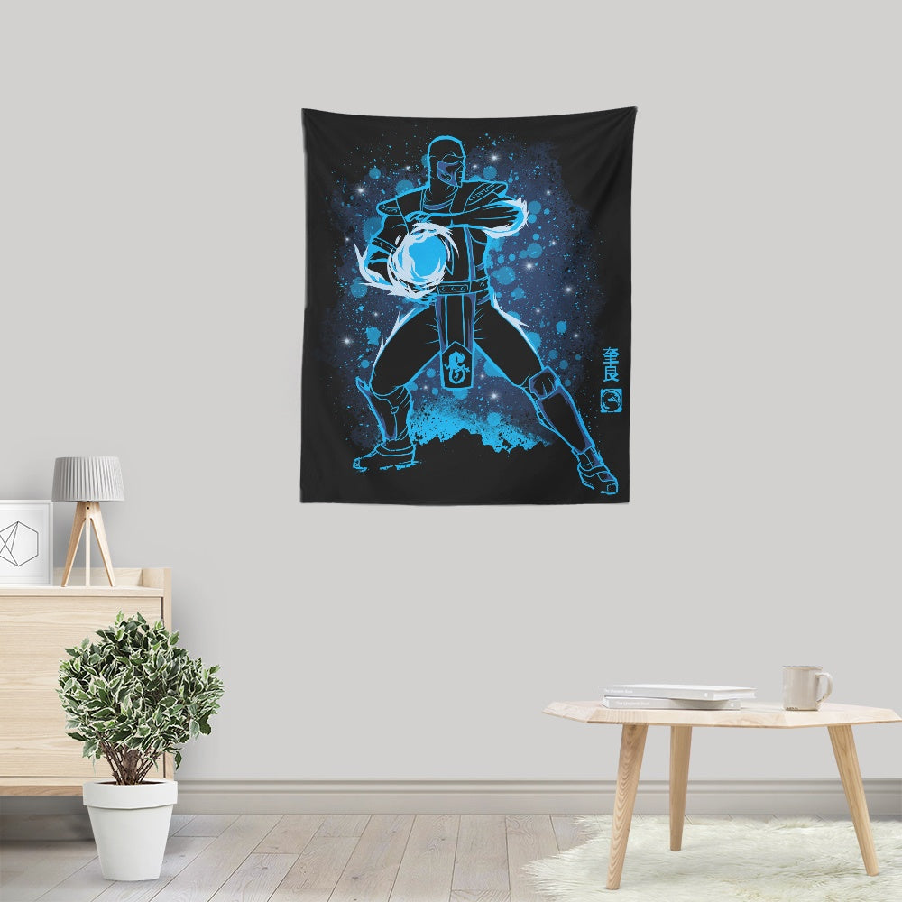 The Ice Assassin - Wall Tapestry