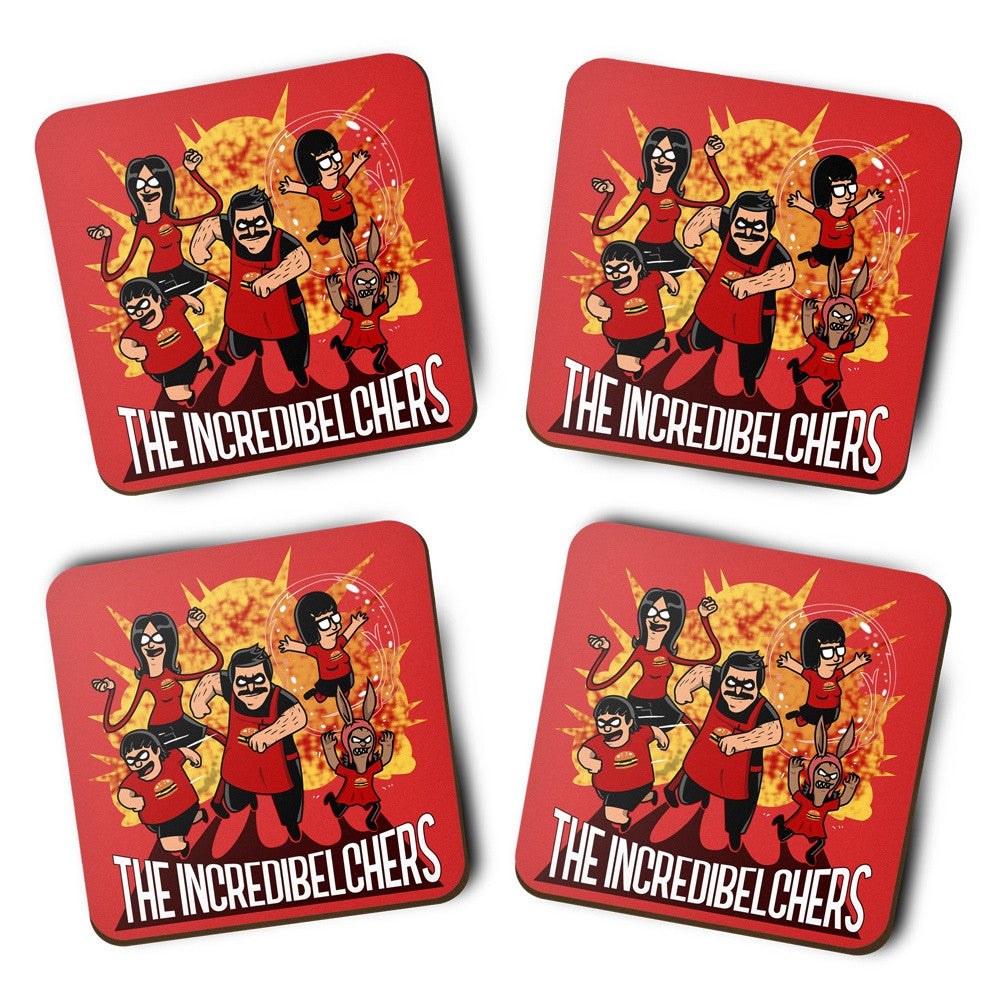 The Incredibelchers - Coasters