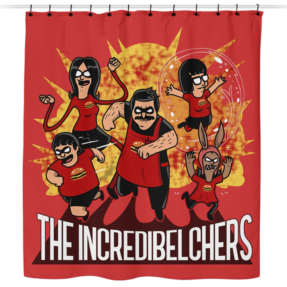 The Incredibelchers - Shower Curtain