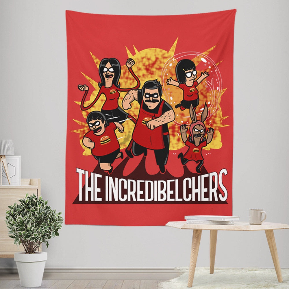 The Incredibelchers - Wall Tapestry