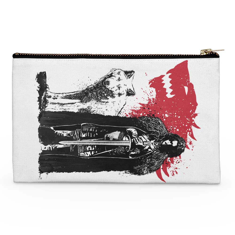 The King and the Wolf - Accessory Pouch