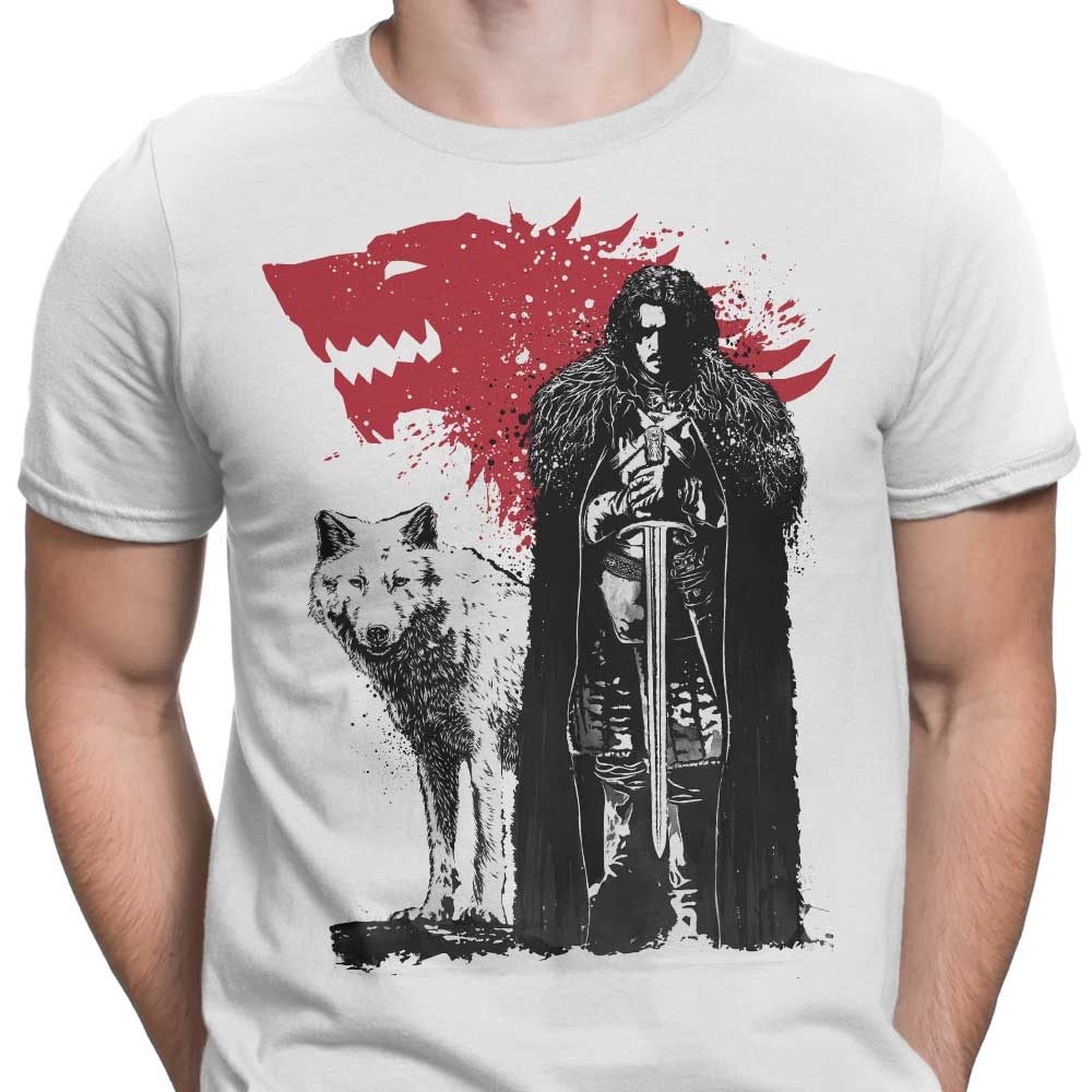 THE KING AND THE WOLF - Game of Thrones T-Shirts