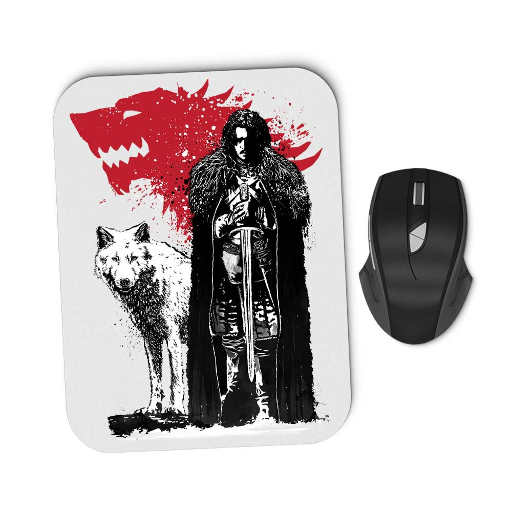 The King and the Wolf - Mousepad
