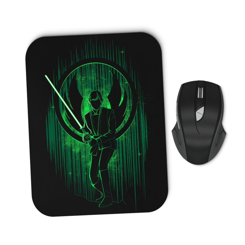 The Knight's Shadow - Mousepad