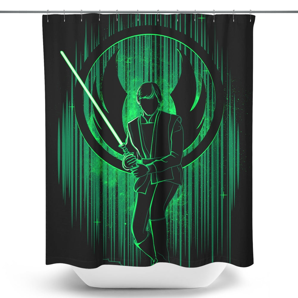 The Knight's Shadow - Shower Curtain