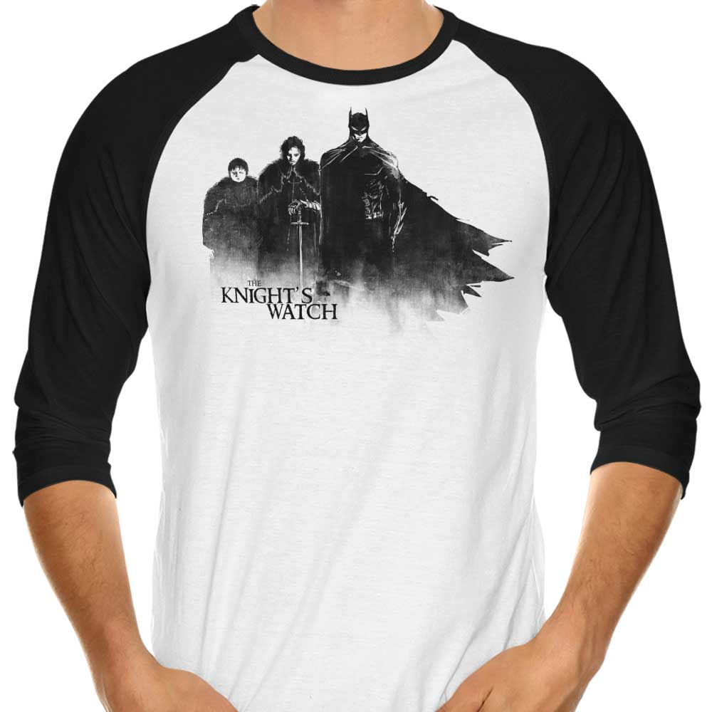 The Knight's Watch - 3/4 Sleeve Raglan T-Shirt