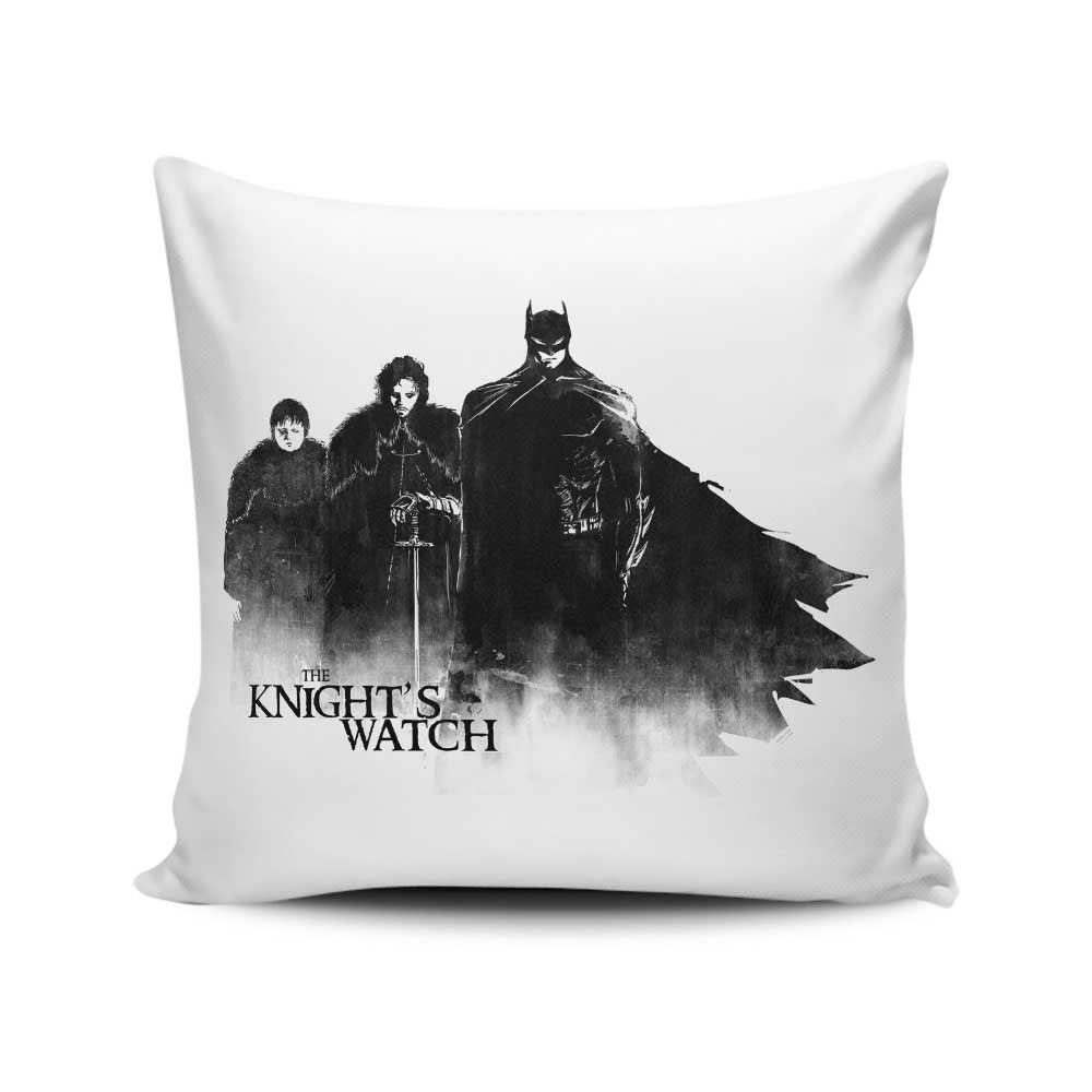 The Knight's Watch - Throw Pillow