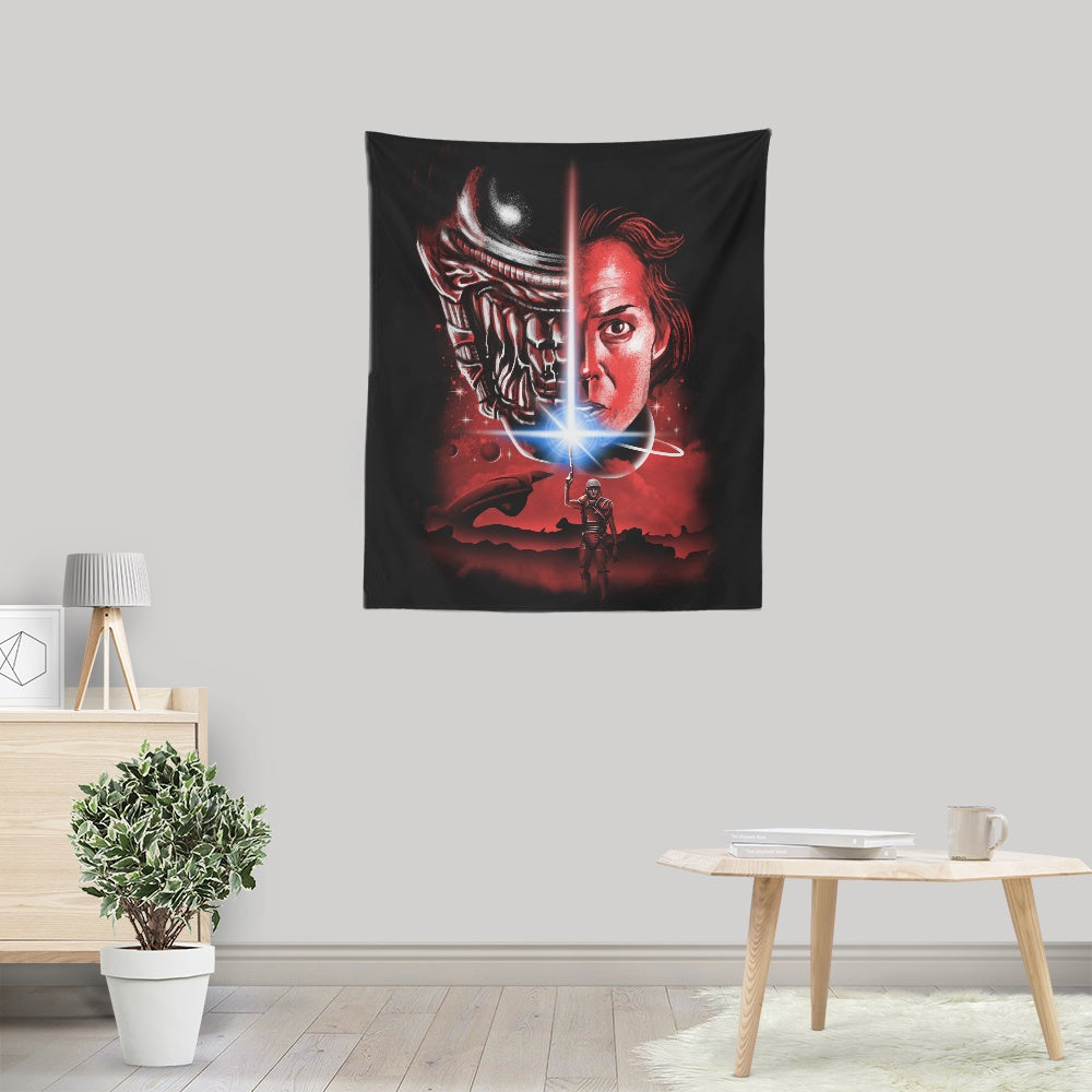 The Last Alien - Wall Tapestry