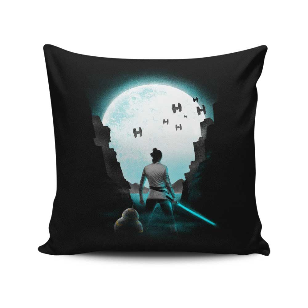 The Last Hope - Throw Pillow