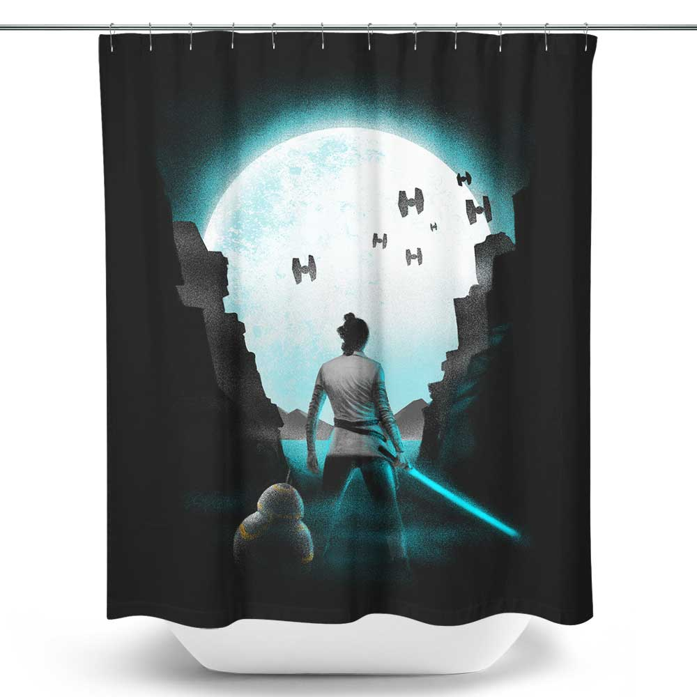 The Last Hope - Shower Curtain