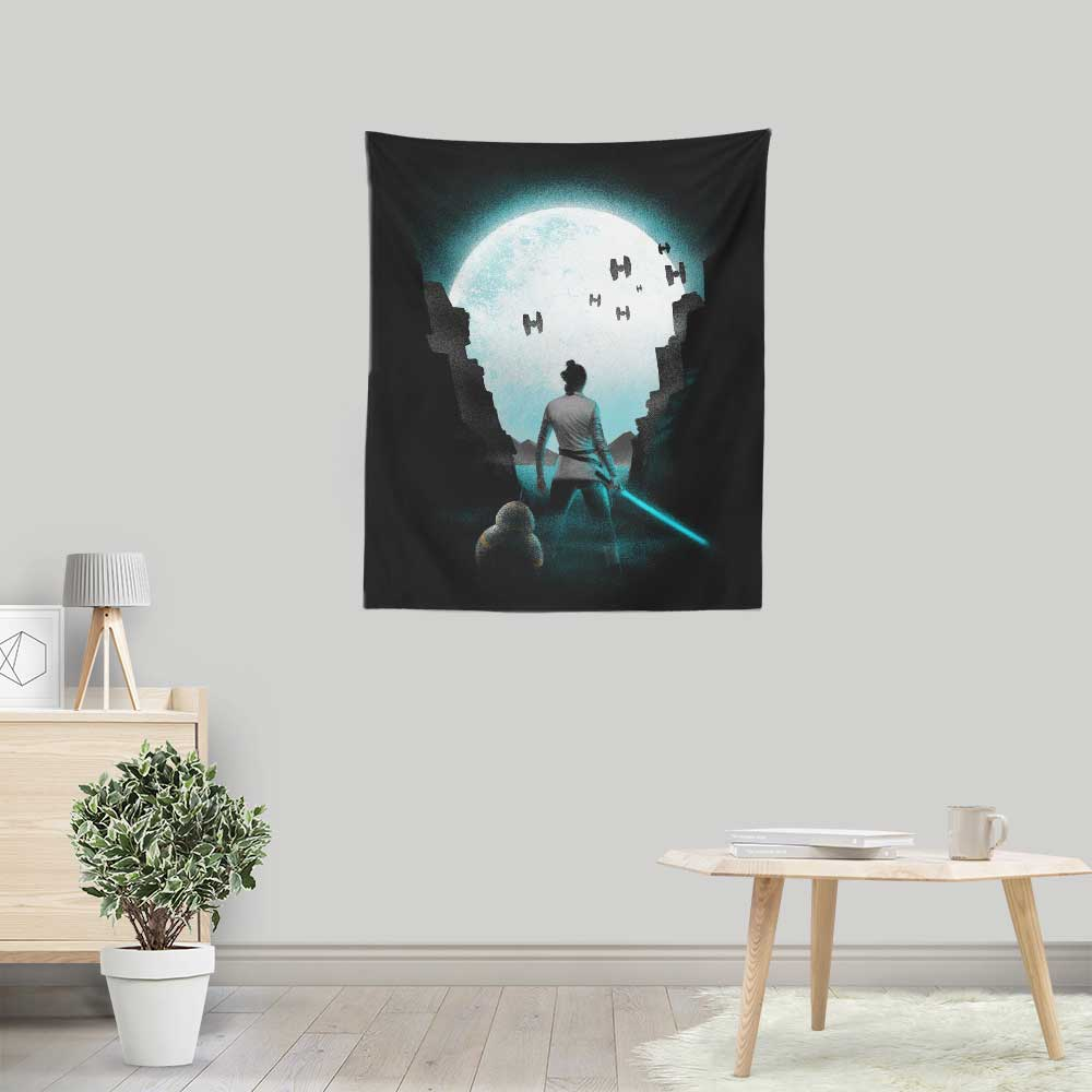 The Last Hope - Wall Tapestry