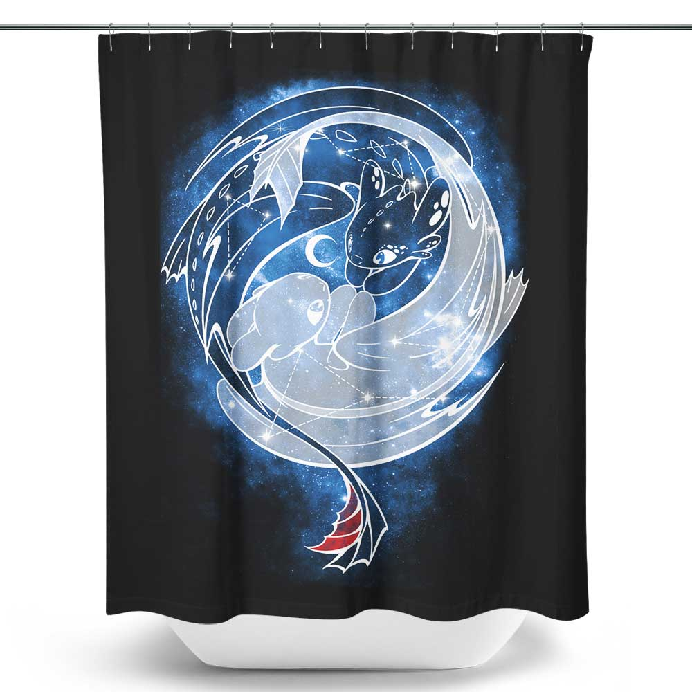 The Last Starry Dragons - Shower Curtain