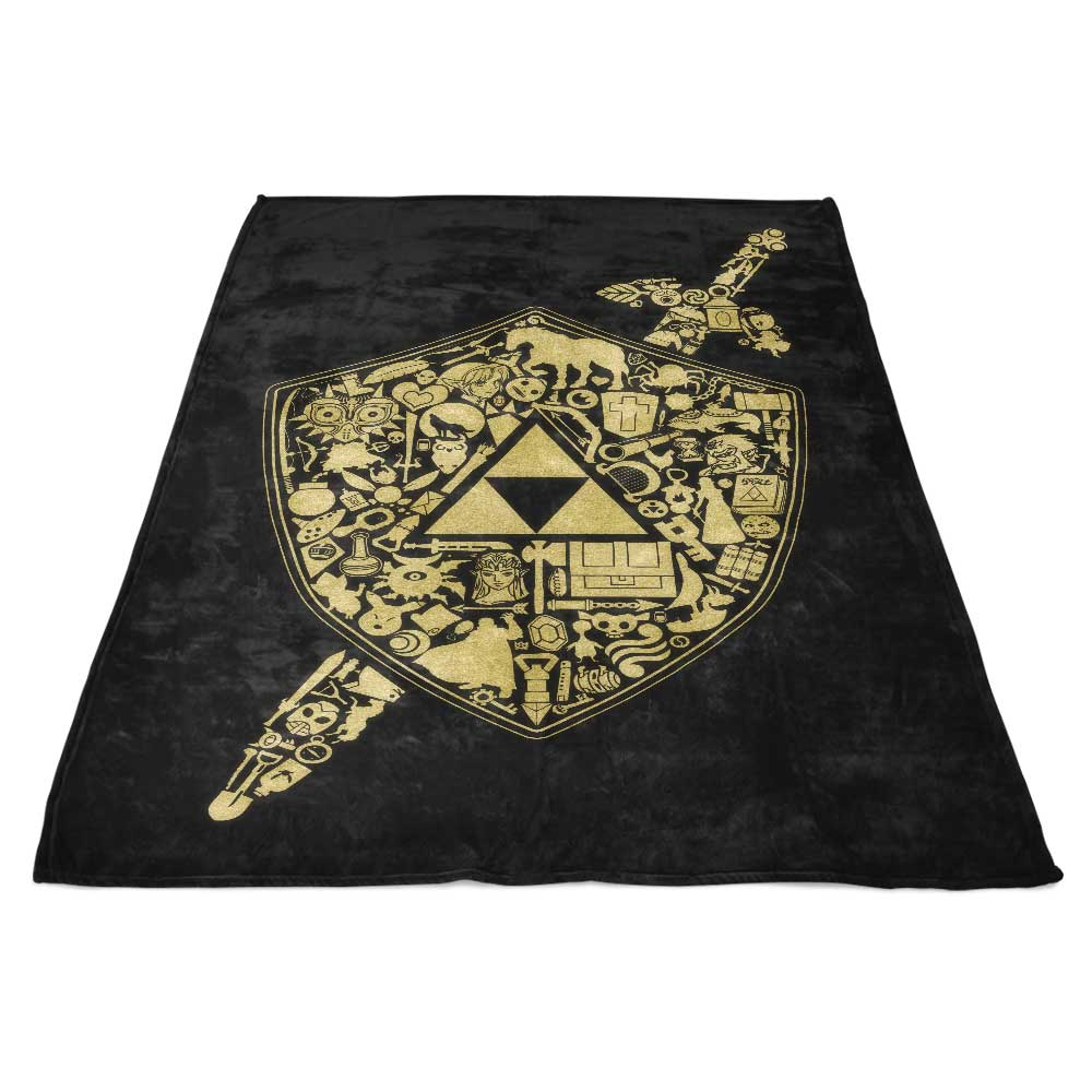 The Legend Continues - Fleece Blanket