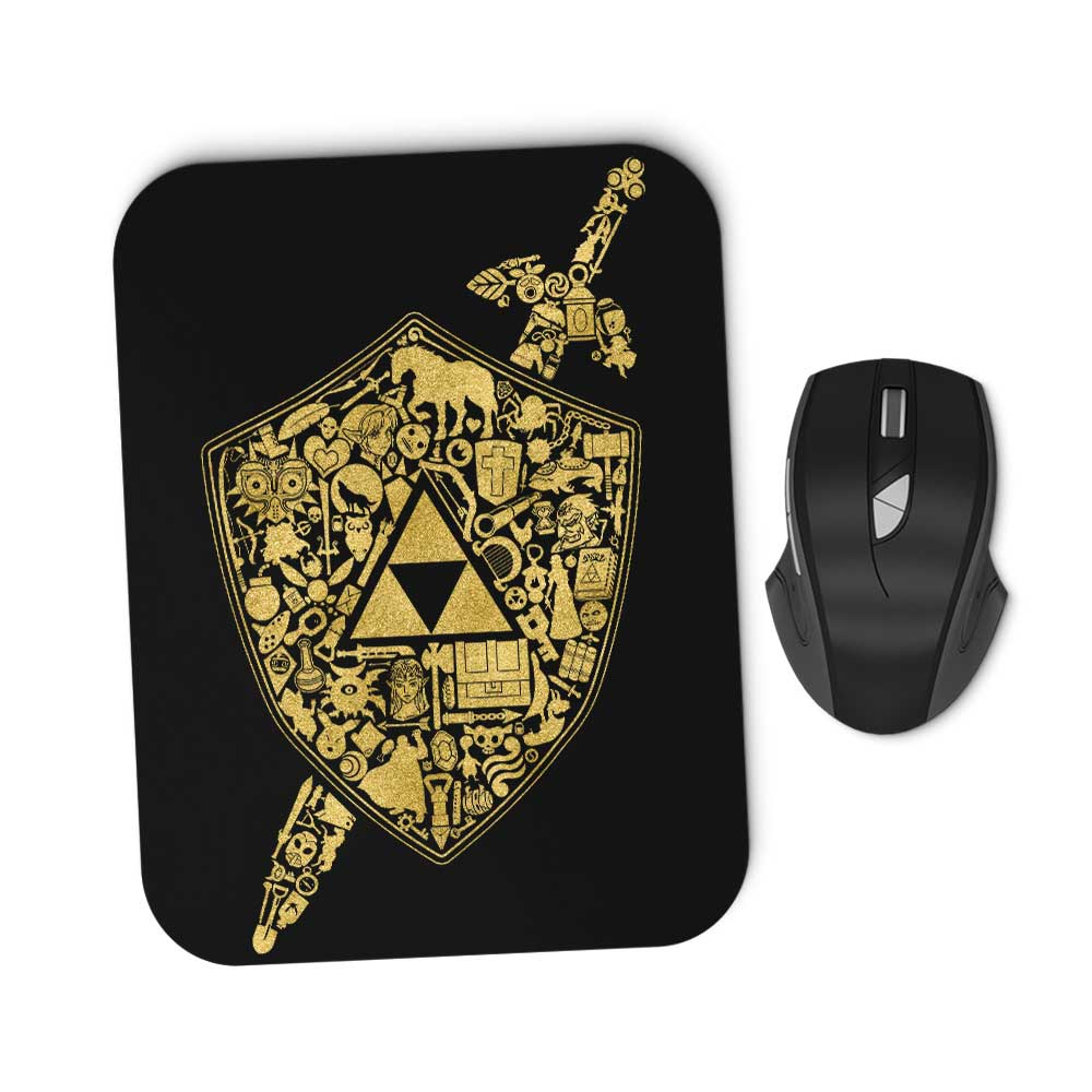 The Legend Continues - Mousepad