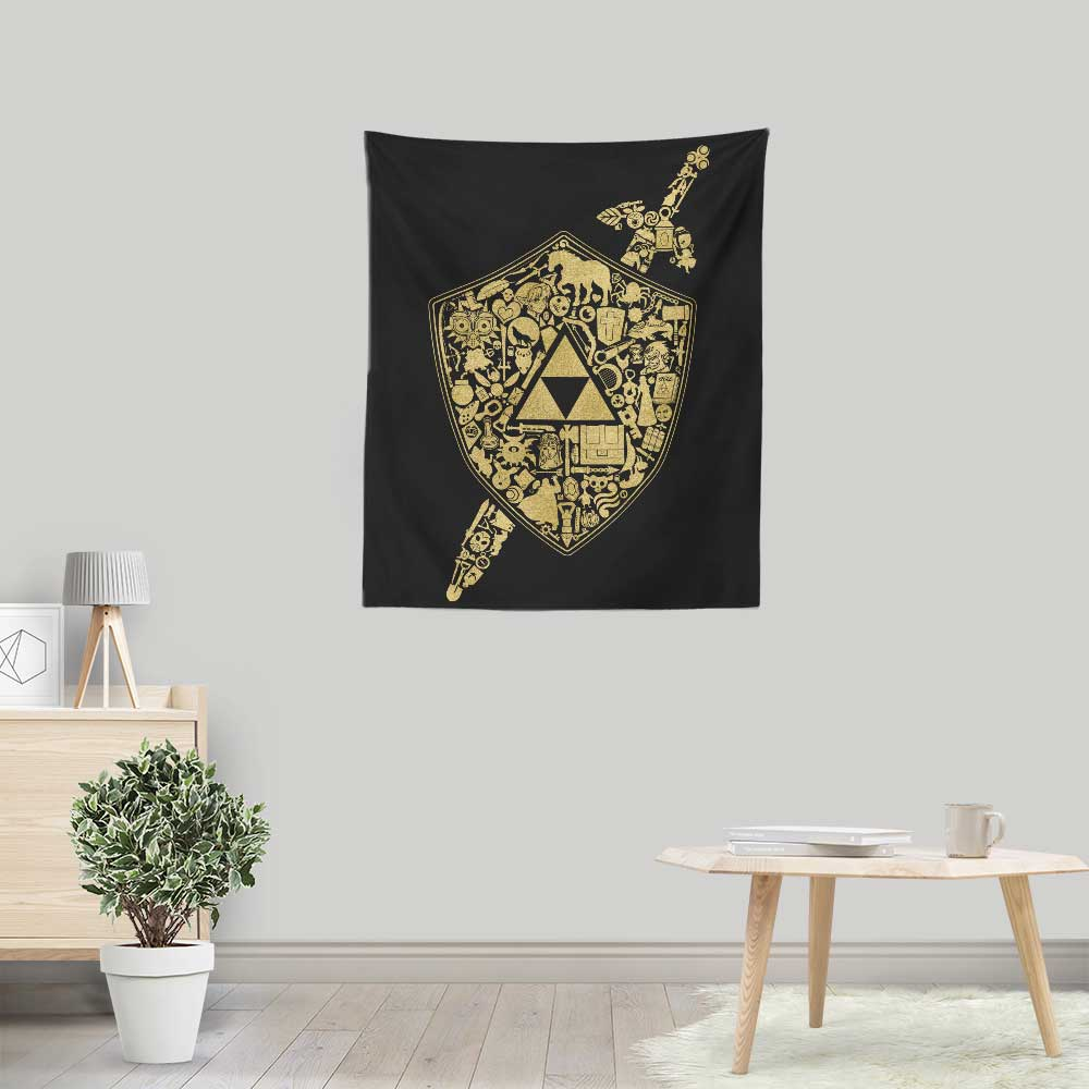 The Legend Continues - Wall Tapestry