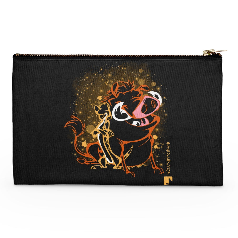 The Meerkat and Warthog - Accessory Pouch