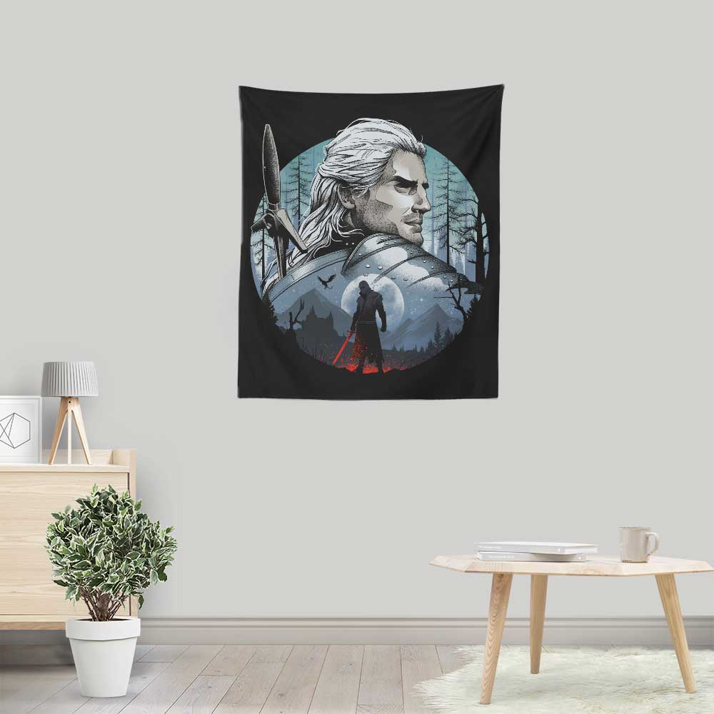 The Monster Hunter - Wall Tapestry