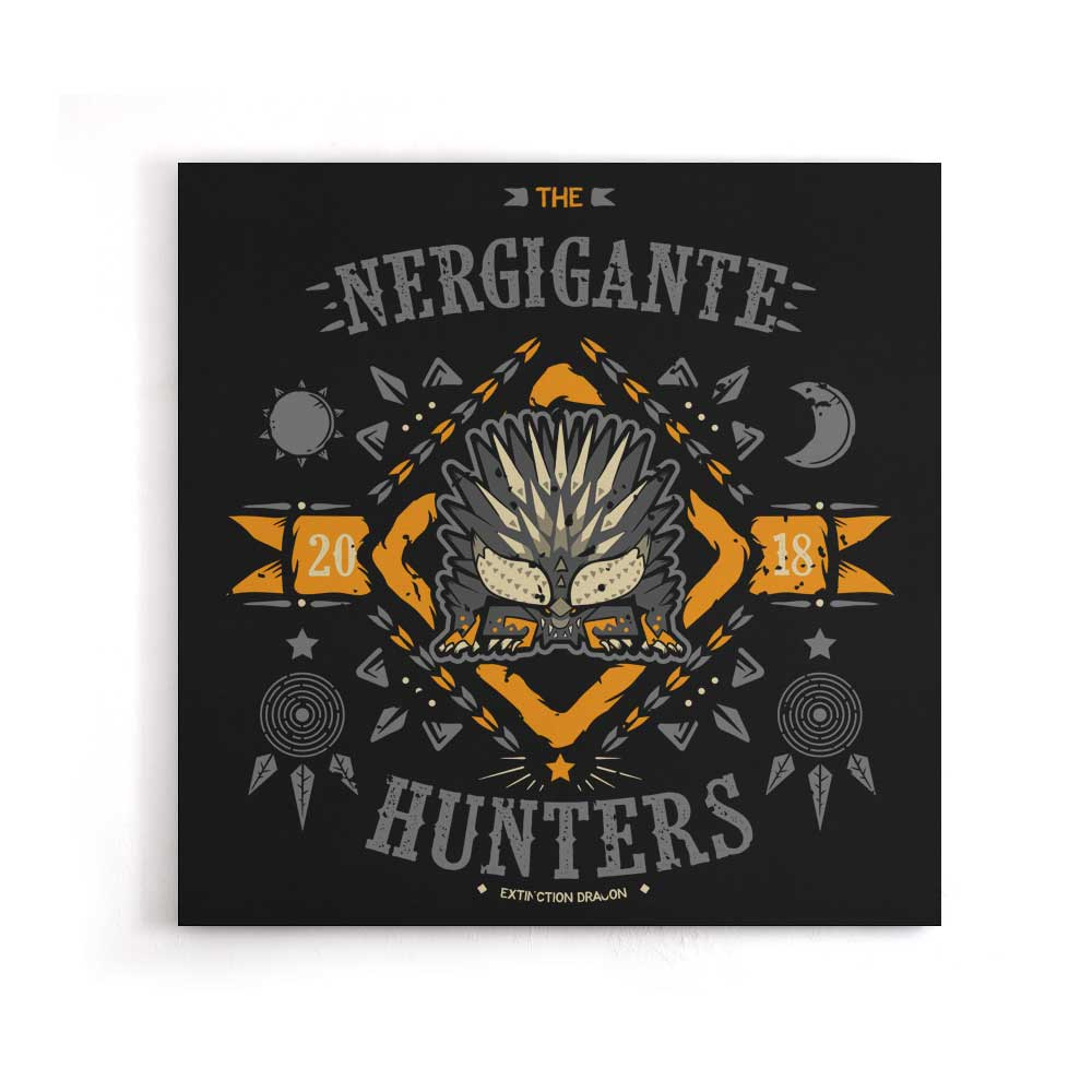 The Nergigante Hunters - Canvas Print