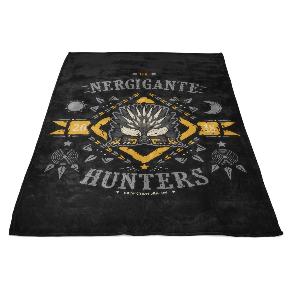The Nergigante Hunters - Fleece Blanket