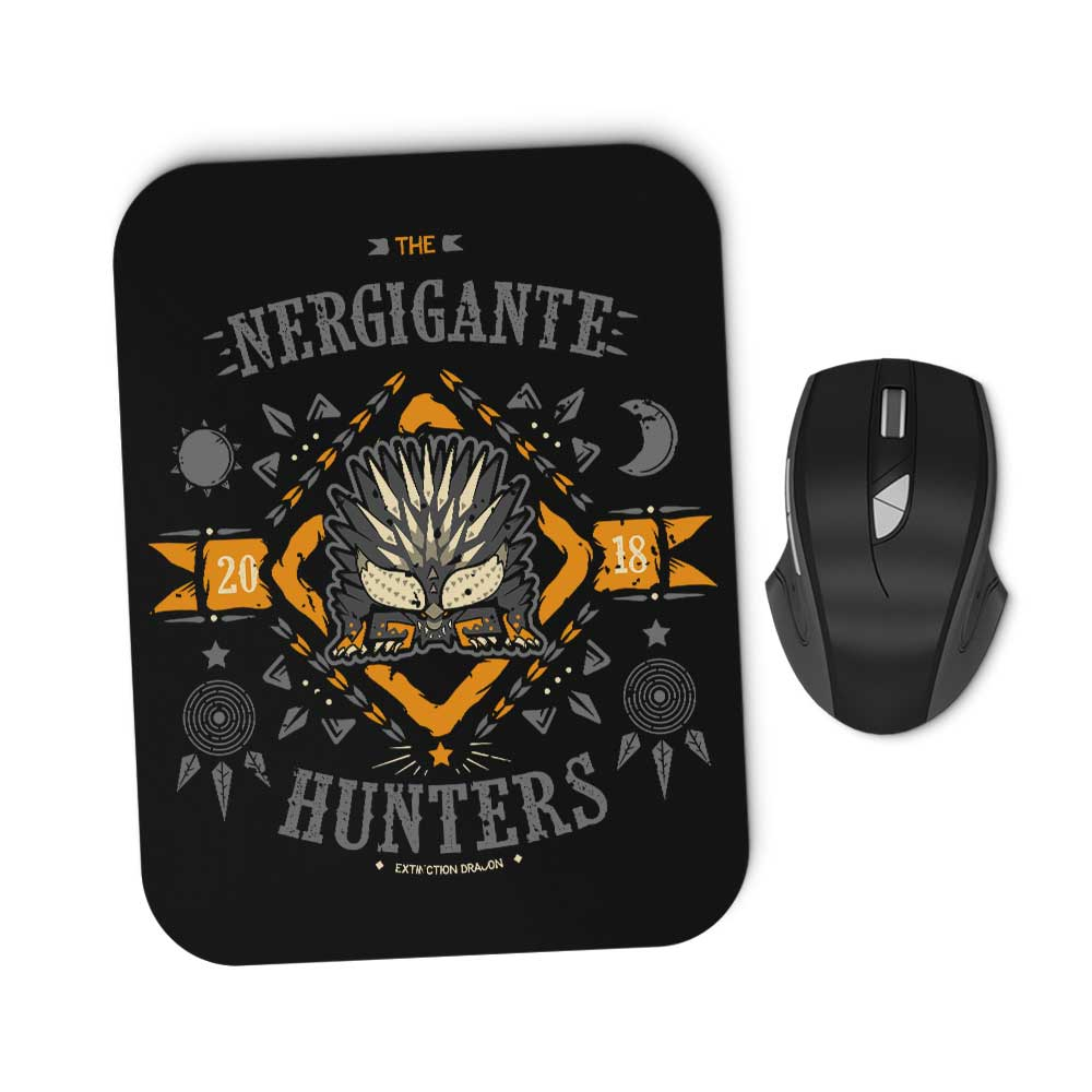 The Nergigante Hunters - Mousepad