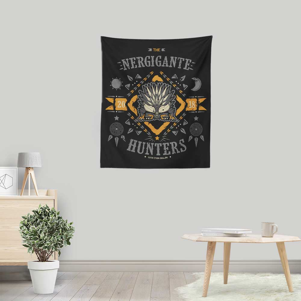 The Nergigante Hunters - Wall Tapestry