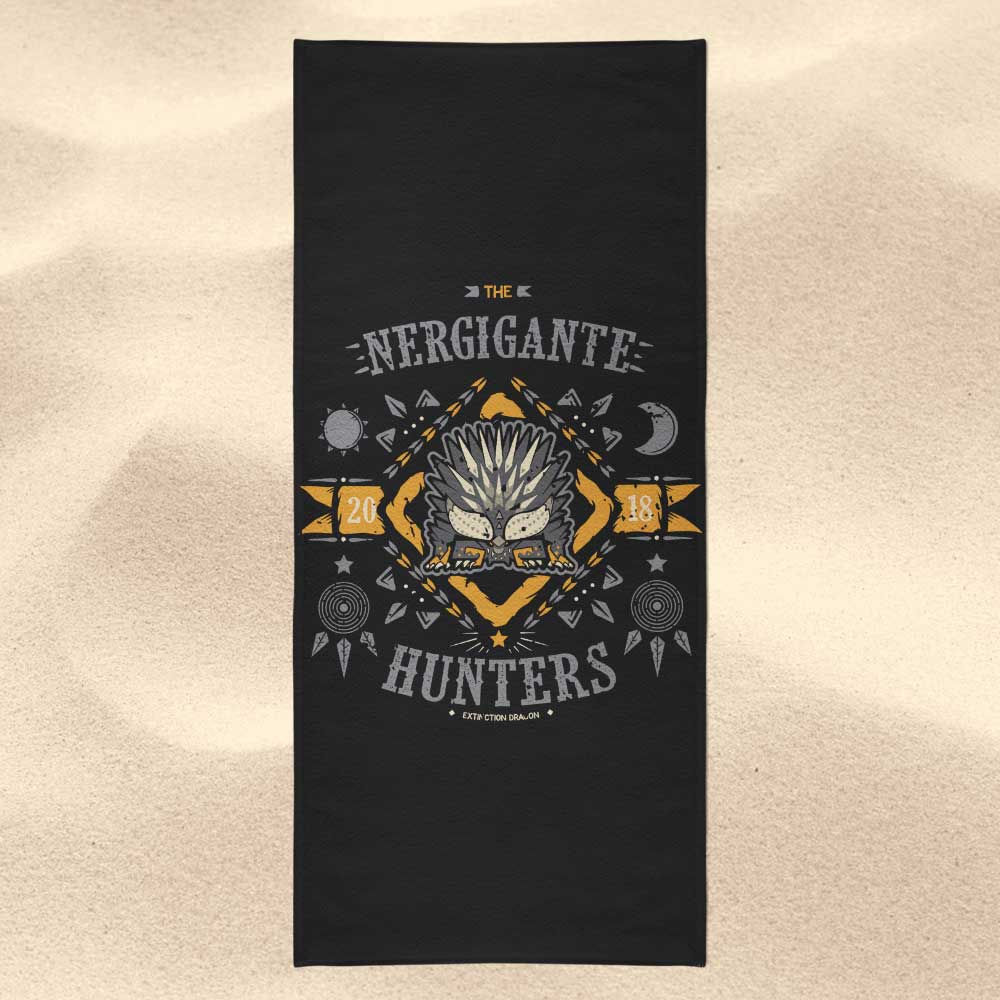 The Nergigante Hunters - Towel