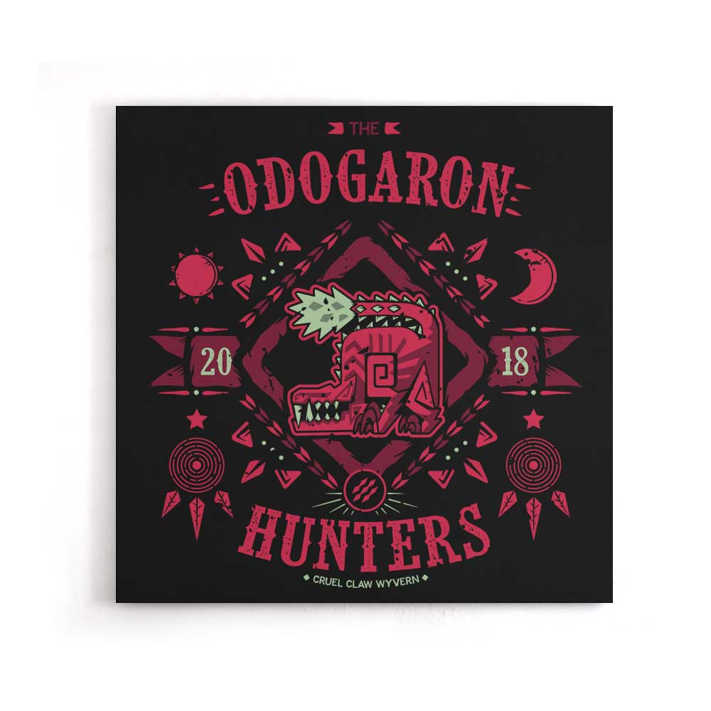 The Odogaron Hunters - Canvas Print