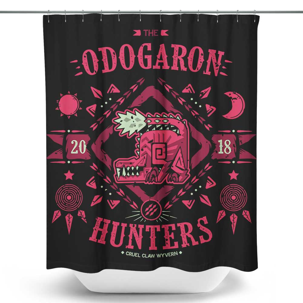 The Odogaron Hunters - Shower Curtain