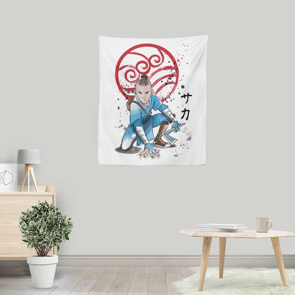 The Power of the Boomerang - Wall Tapestry