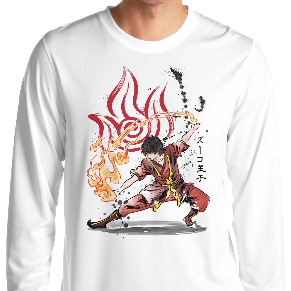 The Power of the Fire Nation - Long Sleeve T-Shirt